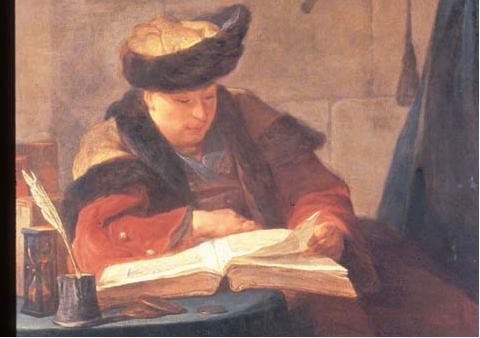 Chardin, Le Philosophe Lisant